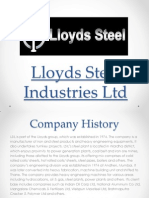 Lloyds Steel Industries Ltd