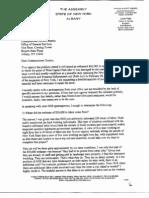 McLaughlin.4.5.13.Letter to Commissioner Destito