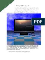 Cinema 4D - Modeling LCD TV in Cinema 4D