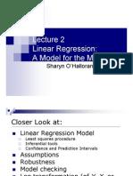 Basic Linear Regression