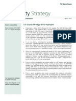 US Equity Strategy Q1 13