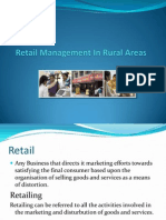 Retail Management in Rural Areas