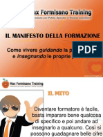Manifesto Della Formazione 2 PARTE