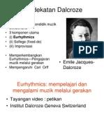 Dalcroze Pengenalan & Aktiviti Modified for PGSR