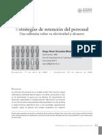ESTUDIO DE ESTRATEGIAS DE RETENCIÓN DEL PERSONAL