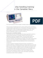 PC based ship handling training system for the Canadian Navy.doc