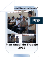 Plan Anual Red Humay 2012 Final