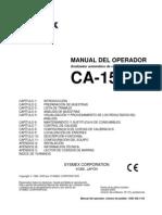 CA-1500_manual de operador _español
