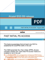Fast Initial GPRS Access