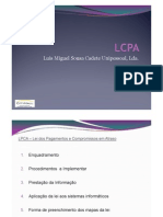 2012 Apresentação LCPA