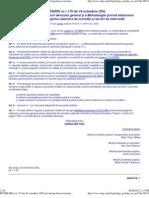 HOTARÂRE nr.1.179 din 24 octombrie 2002 privind aprobarea structurii devizului general si a Metodologiei privind elaborarea devizului general pentru obiective de investitii si lucrari de interventii