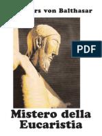 Mistero dell'Eucaristia