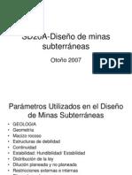 SD20A-Diseno de Minas Subterraneas