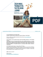 Augustina Stanciu,Radu Jude-Cea Mai Fericita Fata Din Lume