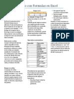 Trabajando Con Formulas en Excel