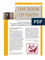 The Door of Faith - April 2013