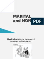 Marital and Nonmarital Lifestyle of Young Adulthood