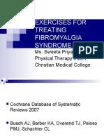 Exercises for Treating Fibromyalgia Syndrome