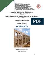 Análisis de Objeto Técnico el Acueducto