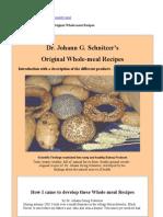 Dr. Johann G. Schnitzer'S_Original Whole-Meal Recipes