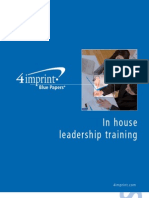 In House Leadership Blue Paper by promotional products retailer 4imprint