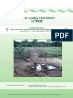 Water Quality Nitrate Factsheet 2