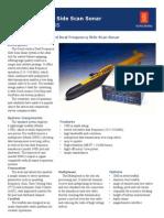 GeoAcoustics DFSS Data Sheet