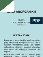 Kuliah k Anorganik II 2