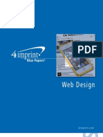 Responsive Web Design Blue Paper by promotional products retailer 4imprint