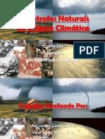 Catástrofes Naturais De Origem Climática