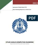 Komputasi Numerik Regresi Linear dan Persamaan Linear Simultan