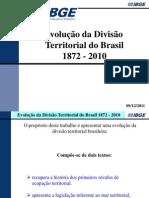 Brasil (Divisão Territorial Evolução)