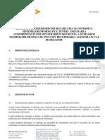 Reg Si Proc Securitatea Sisteme Informatice