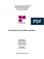 Rotacional de Un Campo Vectorial Completo