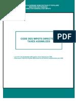 Code des impot directe (algerie) 2008