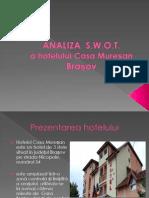 Hotel Casa Muresan - Analiza Swot