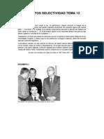 Documentos Selectividad Tema 12