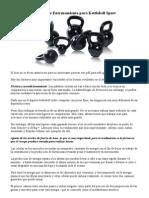 Sistema de Entrenamiento Para Kettlebell Sport