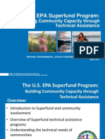The U.S. EPA Superfund Program