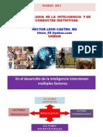 Inteligencia y Conducta Instintiva DR. LEÓN 18.03.2013