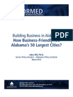 Alabama Policy Institute study