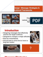 Chapter 7 - Advertising Design - Message Strategies & Executional Frameworks