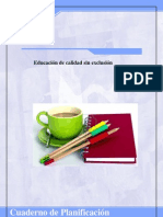Cuaderno Planificacion