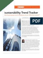 Sustainability Trend Tracker :