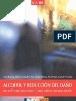 Libro Icahre Alcohol Reduccion