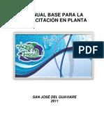 004-MANUAL BASE PARA LA CAPACITACIÓN EN PLANTA