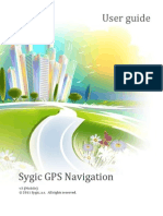 Sygic 13.1.0 User Manual