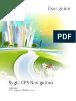 Sygic 13 1 0 User Manual | Traffic | Global Positioning System