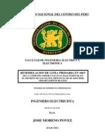 Remodelacion de Linea Primaria en 10kv (Informe Profesional)