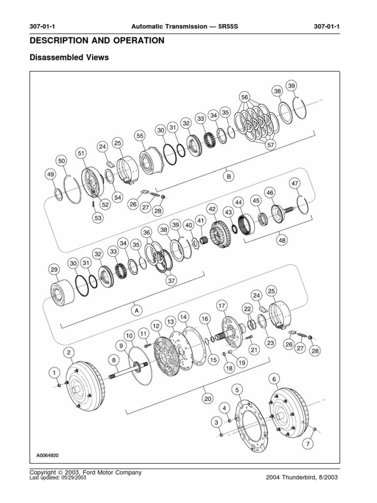 5r55s Diagram Enthusiast Wiring Diagrams \u2022 4R100 Transmission Parts Diagram  5r55e Parts Diagram
